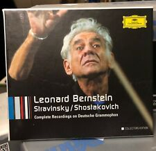 BERNSTEIN: STRAVINSKY & SHOSTAKOV - 6CDs