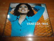 VANESSA-MAE I Feel love CD SINGLE PROMO DEL AÑO 1997 HOLANDA  CONTIENE 2 TEMAS