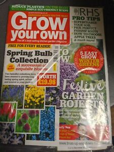 Grow your own magazine Brand new December 2020