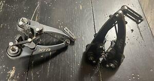 Shimano XTR BR-M970 V-Brakes, Front & Rear Linear Pull Rim Brakes