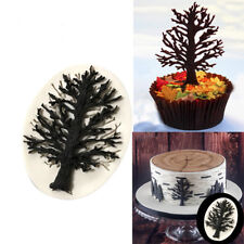 Gray Christmas tree Silicone Mold Chocolate Fondant Moulds Baking DIY Gn