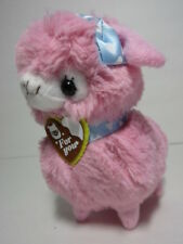 Alpacasso Strawberry Pink Alpaca Red Heart Scarf 40cm Plush Amuse Arpakasso Pink