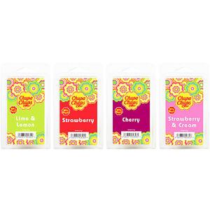 Wax Melts Snap Bars Scented Chupa Chups Strawberry Cream Cherry Smell Kit Burn