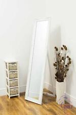 Large White Antique Design Dress Cheval Mirror 5Ft3 X 1Ft4 160cm X 40cm