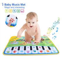 Baby Musikmatte Klaviermatte Klavier Teppich Matte Spielzeug Kindergeschenk