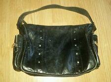 Gorgous black studded JOHN RICHMOND medium side bag