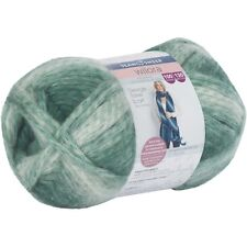 Sean Sheep WILORA GEORGIE TASSEL SCARF YARN 100g 130m, Beginner Knitting GREEN