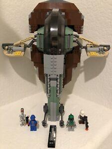 LEGO STAR WARS EPISODE V 6209 Slave 1 100% Complete EXCELLENT CONDITION