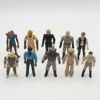 Vintage Star Wars Action Figure Lot of 10 Luke Skywalker Han Solo Lando
