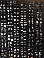 100 PAIR Assortment Silver or Gold Tone/Plate VINTAGE CUFFLINKS bulk $5 per pair