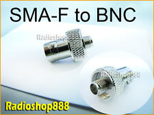 SMA to BNC SMA-F to BNC-F adapter for UV-5R (S002S)