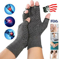 1 Pair Arthritis Fit Compression Gloves Hand Support Arthritic Joint Pain Relief