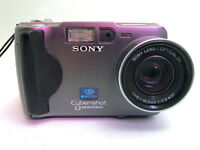 Sony Cyber-shot DSC-S30 1.3MP Digital Camera for Parts