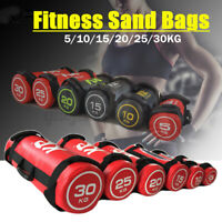 Training Fitness Power Exercise Boxing Weights Gym Sand Bags 5/10/15/20/25/30KG