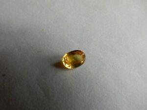 Sapphire, yellow, 0.78ct