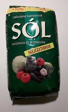 Sol Klodawska Niejodowana 9,9kg naturalna/Polish Rock Salt No Additives Natural