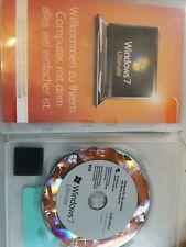 Microsoft Windows 7 Ultimate 64 bit , Deutsch