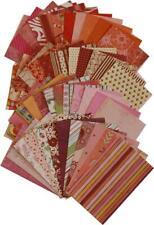 48 Bogen DESIGN-PAPIERE div Muster 9,5 x 14,5 cm Papier Scrapbooking Sets I