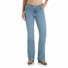 As Real As Wrangler® Misses Classic Fit  Bootcut Stretch Jeans - US 12- AUS 16