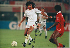 Ruud GULLIT Signed Autograph 12x8 Photo AFTAL COA AC MILAN Italy Football Legend
