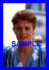 TRANSPARENCY (NEGATIVE) VANESSA REDGRAVE RENE RICHARDS IN FILM SECOND SERVE 1986