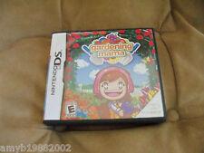 Gardening Mama (Nintendo DS, 2009) EUC