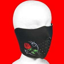 Ladies Tribal Rose Neoprene 1/2 Mask  one size fit all