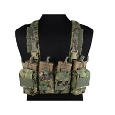 EMERSONGEAR AIRSOFT TACTICAL VEST EASY CHEST RIG AOR2 EM7450B GILET SOFTAIR
