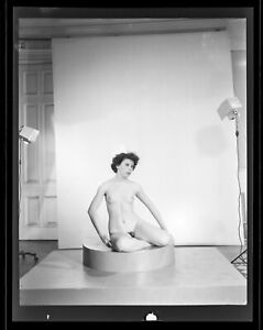 1930s Antique Risque Negatives~Firm Perky Perfect Fit Body Pinup Poses in Studio