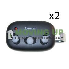 Mct-3 Linear MegaCode Garage Door Remote Dnt00089 Transmitter Qty 2