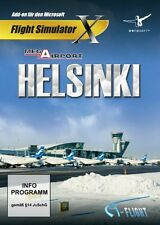 Flight Simulator X-Mega Airport Helsinki (add-on) - [PC-DVD] --- NUOVO E OVP