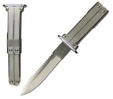 Stainless Steel SS Paratrooper Folding Pocket Knife Good Quality Fast Shipping!