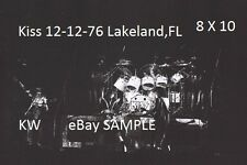 Kiss 1976 Group Photo 8 X 10 Lakeland,FL Shock Me