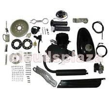 NEW 80cc 2-Stroke Motor Engine Kit Gas for Motorized Bicycle Bike Engine Black
