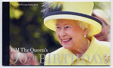 GB 2016 90th BIRTHDAY of QUEEN ELIZABETH II PRESTIGE BOOKLET DY17