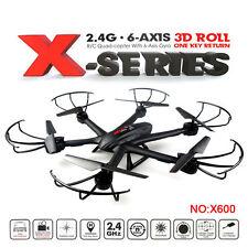 Original MJX X600 RC Quadcopter Drone Headless UFO 2.4G 6 Axis 3D Roll Black