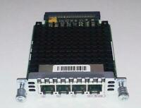 CISCO VIC2-4FXO 4-PORT FXO VOICE FAX INTERFACE CARD Q'TY Available