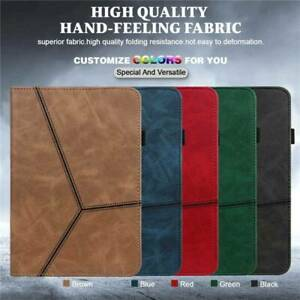 PU Leather Smart Case Cover For iPad 5 6 7 8th Gen 10.2 9.7 Air Pro 10.5 Mini
