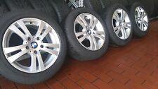 4x BMW 3er Reihe E90 E91 E92 E93 Alufelgen Dunlop Winterreifen 205/55 R16