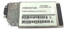 SCHNEIDER MODICON 416NHM21203 PCMCIA MODBUS PLUS ADAPTER, M/N: 043508724