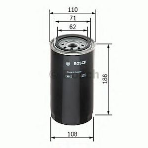 ENGINE FUEL FILTER OE QUALITY REPLACEMENT BOSCH 1457429681