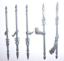Dark Elves Daughters of Khaine Khinerai Barbed Javelins x 5 – G1177