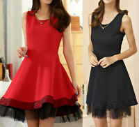 18e0c730f9fd7 New Women Ladies Casual Party Summer Dress Clubwear AU Size 10 12 14 16 18