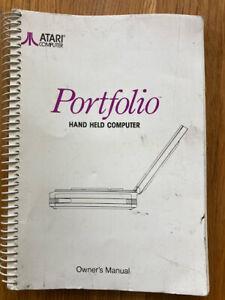 ATARI Portfolio book