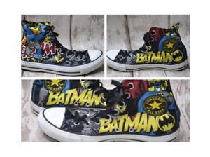 BATMAN - 80th Anniversary Converse - Chuck Taylor All Star - SIZE  7 UK