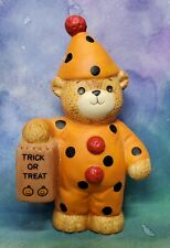 Enesco Lucy and Me Lucy Rigg Halloween Clown Bear