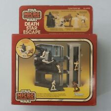 Vintage Star Wars Micro Collection Death Star Escape action play set MIB 1982