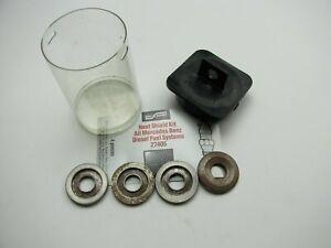BWD 27405 DIESEL Fuel Injector Heat Shield - 4 Pcs - 1981-1995 Mercedes Benz