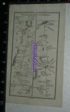 1778 Taylor & Skinner Strip Map Ireland -Fethard ,Clonmell, Dublin, Clandolkin