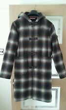 Timberland Brown check duffle coat M 12/14